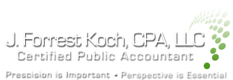 Seaside, OR CPA Firm | Blog Page | J. Forrest Koch, CPA, LLC